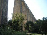 Visite du patrimoine feroviaire, viaduc de Mussy-sous-Dun