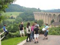 Viaduc de Mussy-sous-Dun, visite du patrimoine feroviare avec un guide de pays
