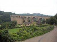 Viaduc de Mussy-sous-Dun, visite du patrimoine feroviare classé à l'inventaire supplémentaire des monuments historiques