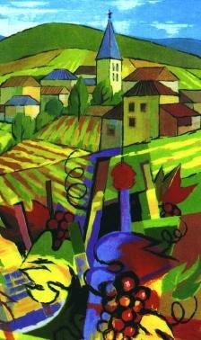Logo pictural des Amis Guides en Terre Beaujolaise