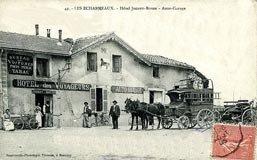 Histoire de la notoriété du col des Echarmeaux, patrimoine du Beaujolais vert